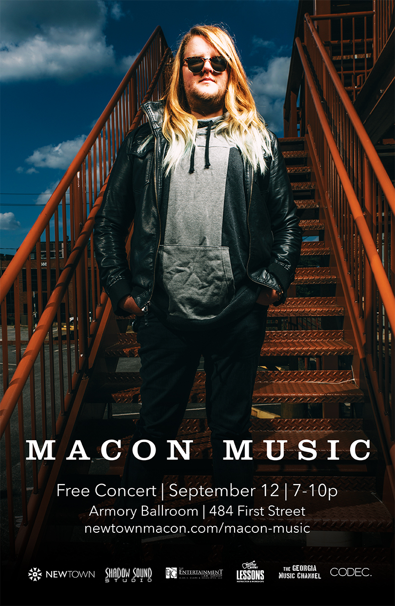 Macon Music Poster