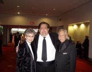 Joey, Dr. Bobby Bailey and John L Carson at GA Music Hall of Fame