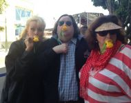 Joey with Kimberly Dawn and Cheryl on the Duck Boat in San Francisco