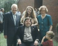 joey and jennifer with jimmy carter
