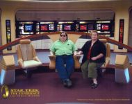 Joey-and-Jennifer-at-Star-Trek-Experience-Las-Vegas-2008