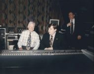 Joey with President Jimmy Carter at the board
