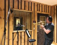 Al Chez from Paul Schaefer Orchestra for 17 years tracking trumpet