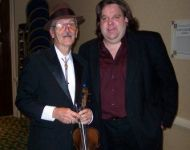 Joey with Jerry Burke at Atlanta Country Music Hall of Fame in 2005