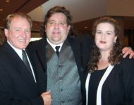 Alan Walden with Joey and Jennifer Stuckey at GA Music Hall of Fame Awards