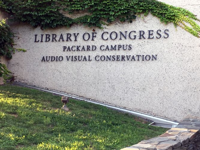 Library of Congress Packard Campus National Audio-Video Conservation Center (site of AES 2018 Conference)