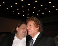 Joey with Jimmy Hall at GA Music HOF Awards
