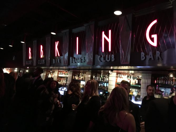 BB Kings Blues Bar at 2018 Grammy Soiree