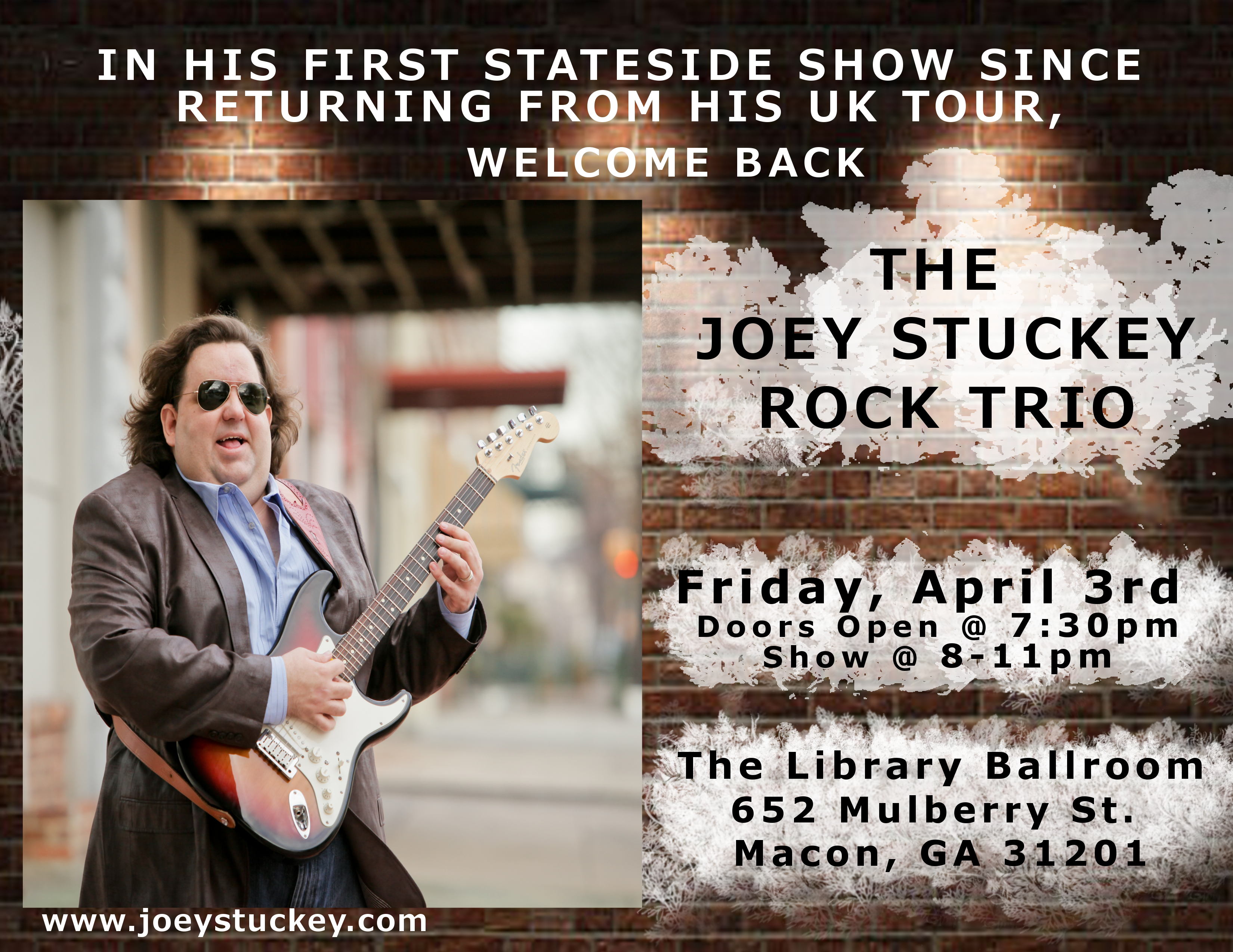 Joey Stuckey Rock Trio