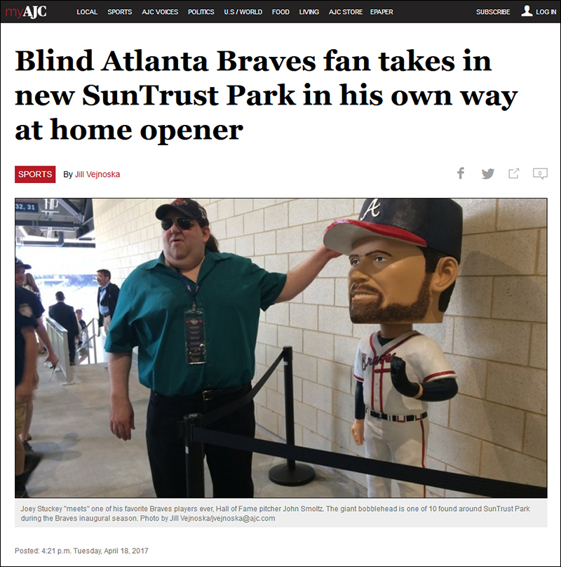 AJC Braves Article - April 18, 2017