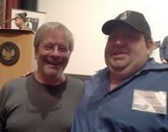 Joey with George Massenburg - the father of parametric EQ at AES about archival