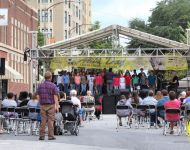 Howard Middle School Performance at Alive Day