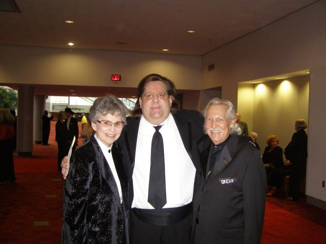Joey with Dr. Bobbi Bailey and Johnny Carson at GAMusicHOF 2009