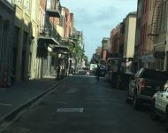 Iconic French Quarter Buildings in NOLA