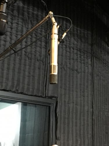 This mic from Alan Parsons' collection was used for drum overhead for Dark Side of the Moon by Pink Floyd