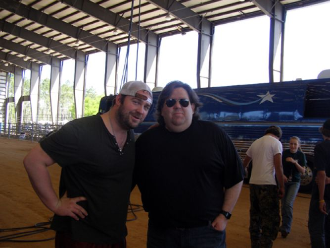 Joey with Lee Brice in Green Cove Springs FL