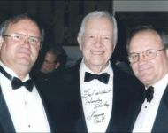 talmadge and eugene with jimmy carter